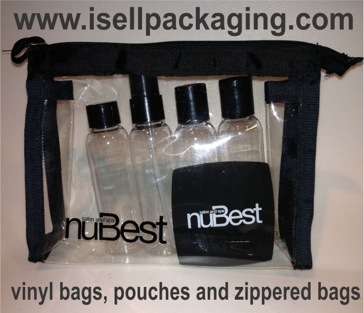 Vinyl Bags, Cosmetic Pouches, and Zippered Bags for NuBest