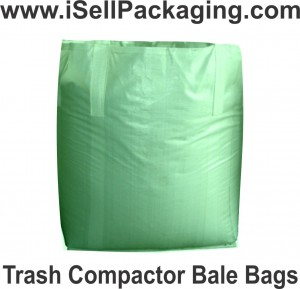 FIBC Trash Compactor Bale Bags