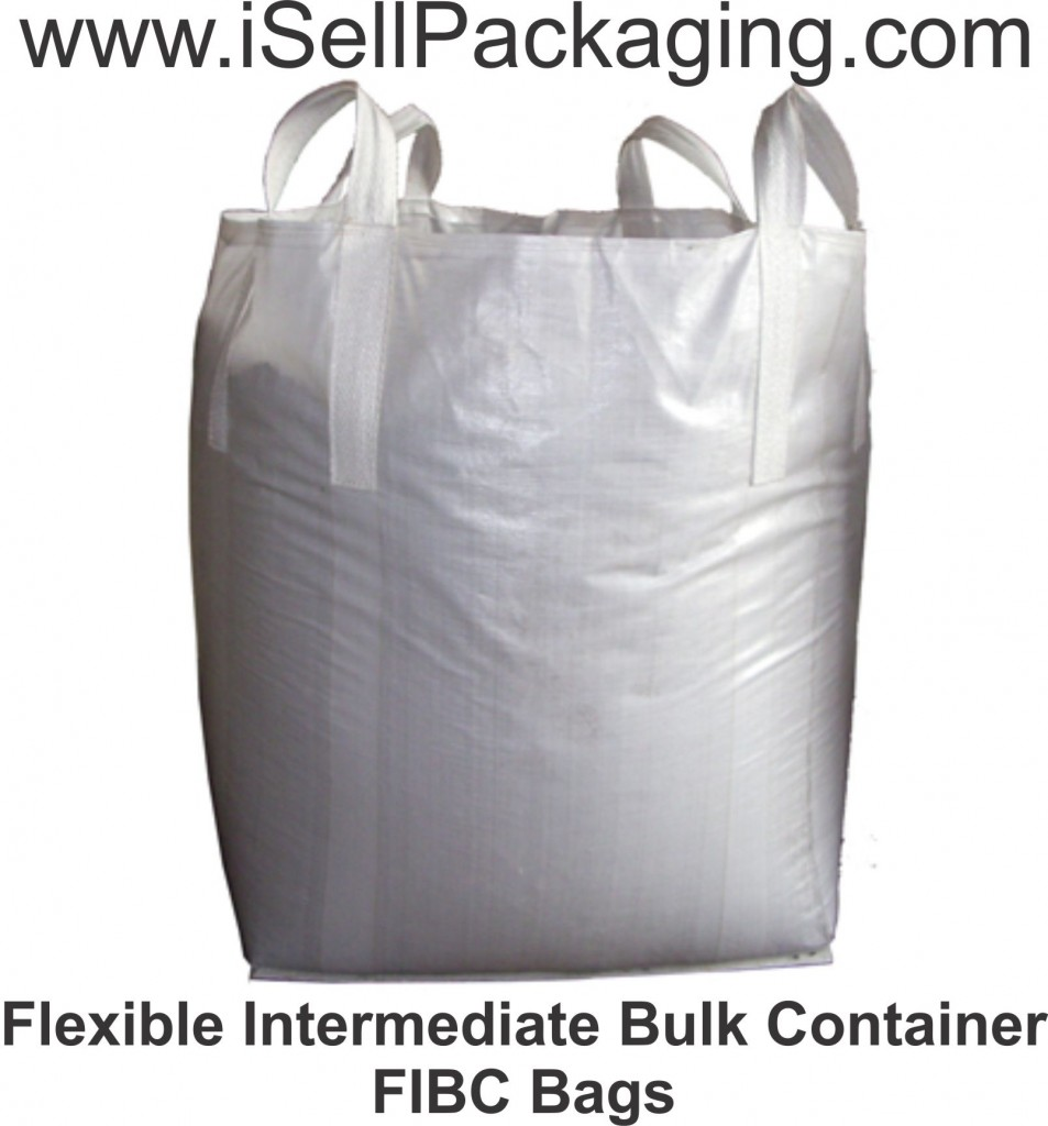 FIBC Bale Bags for Garbage, Municipal Waste, Trash, Recycling, Compactor