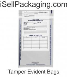 tamper evident bags