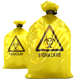 biohazard bags and medical waste Container bags