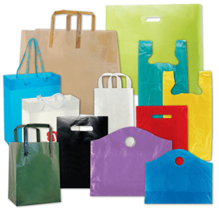 Custom Plastic Shopping Bags and Grocery Packaging Bags