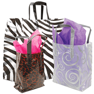 Custom Printed Retail Packaging Plastic Bags