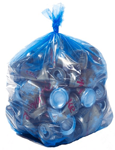 garbage trash recycling bag