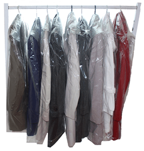Custom Dry Cleaning and Garment Packaging Bags