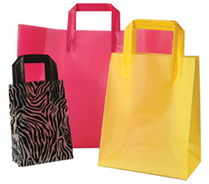 Custom Printed Plastic Retail Packaging bags