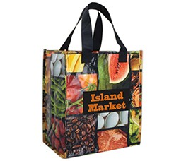 Custom Printed Non Woven Tote Shopping Bags