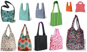 4 types of reusable shopping bags that are eco-friendly