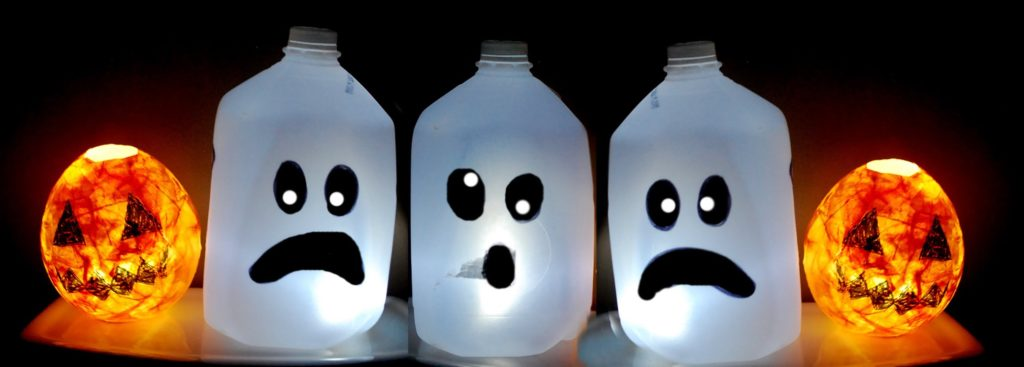 Ghost from Soft Drink Plastic Bottles