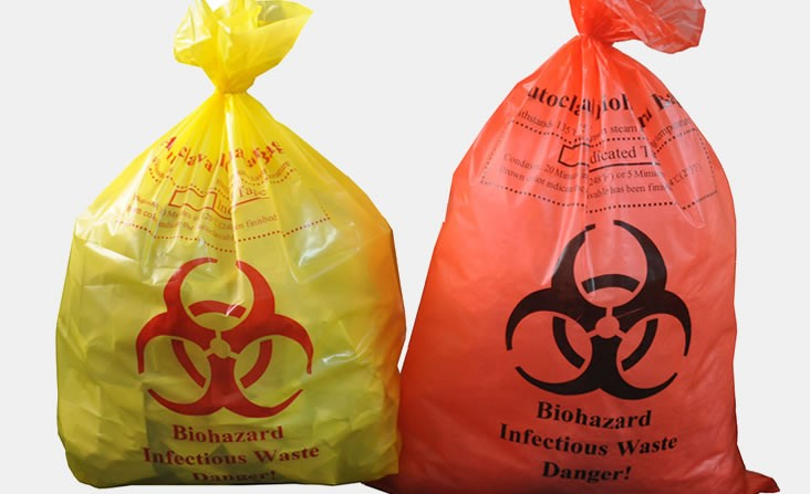 Red and Yellow Biohazard Bags: How to Use Them Rightly?